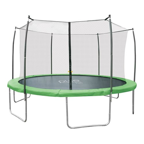 Pure Fun Dura-Bounce 14 ft Trampoline with Enclosure