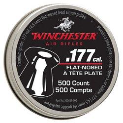 Winchester Premium .177 Caliber Flat-Nose Air Gun Pellets