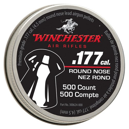 Winchester 7419 .177 (4.5mm) Caliber Round-Nose Pellets