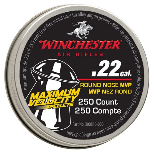 Winchester .22 Caliber Maximum Velocity No-Lead Air Gun Pellets