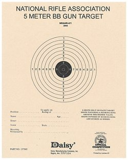 Daisy® 5 m Paper BB Targets 50-Pack