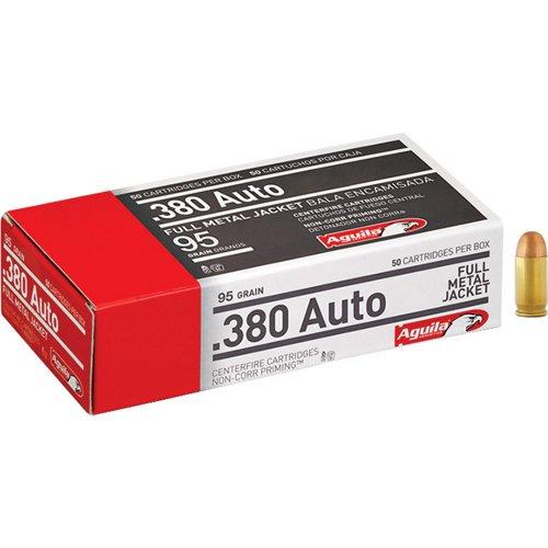 Aguila Ammunition .380 Auto 95-Grain Centerfire Ammunition