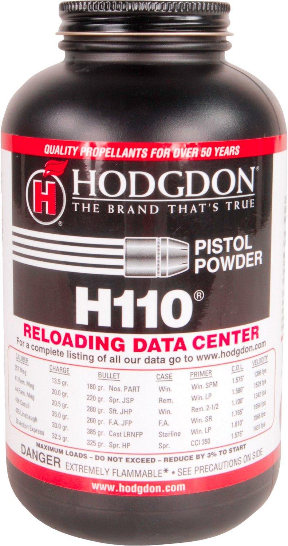 Hodgdon H110 1 lb Spherical Pistol/Shotgun Powder