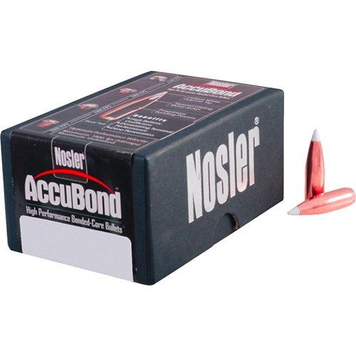 Nosler AccuBond Bonded Core 6mm 90-Grain Reloading Bullets