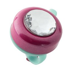 Bell Riderz Bling Hearts Gem Safety Bike Bell