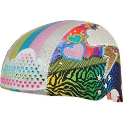 Raskullz Kids' Sparklez Loud Cloud Bicycle Helmet