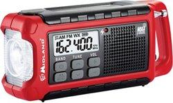 Midland™ Compact Emergency Crank Radio