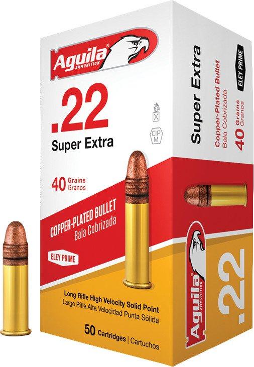 aguila ammunition lr high velocity 22 40 grain rimfire ammunition