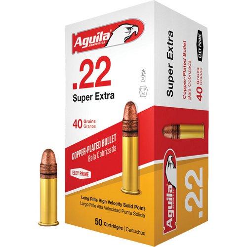 Aguila Ammunition LR High Velocity .22 40-Grain Rimfire Ammunition