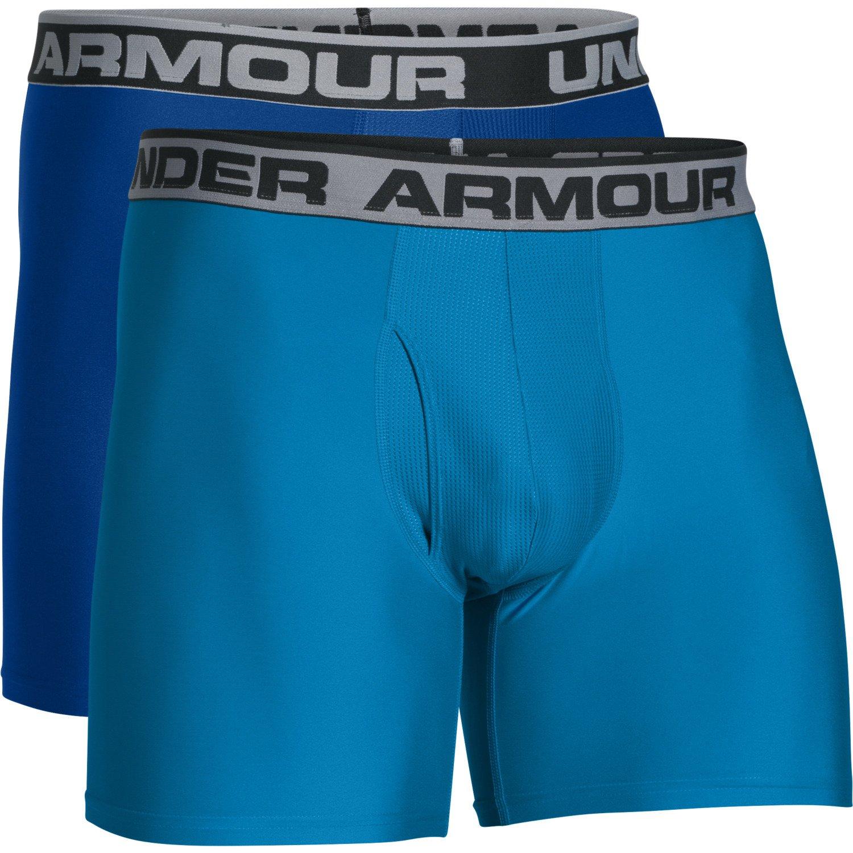 Under Armour Men's Original Series Boxerjock Boxer Briefs 2-Pack