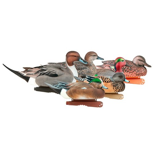 Greenhead Gear® Pro-Grade Puddler Pack 3-D Drake and Hen Duck Decoys 6-Pack