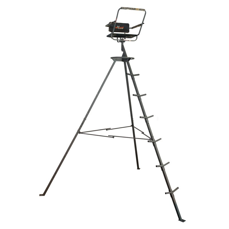 Big Game Treestands Pursuit 12′ Portable Tripod – Hunting Stands/Blinds/Accessories at Academy Sports