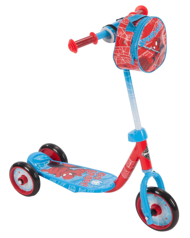 Huffy Boys' Spider-Man 3-Wheel Scooter
