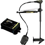 Minn Kota Edge 55 Freshwater Bow-Mount Foot-Control Trolling Motor with Free Digital Charger