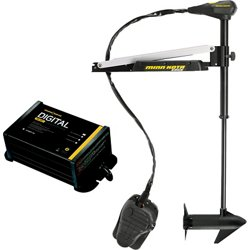 Edge 55 Freshwater Bow-Mount Foot-Control Trolling Motor with Free Digital Charger