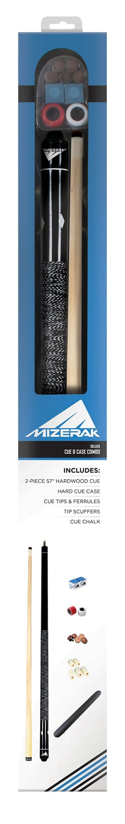 Mizerak™ Deluxe Cue and Case Set