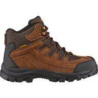 Brazos Men's Iron Force Steel Toe Hiker II Lace Up Work Boots