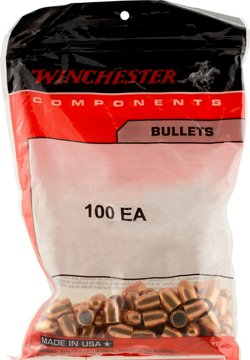 Winchester Full Metal Jacket Centerfire Handgun Bullets