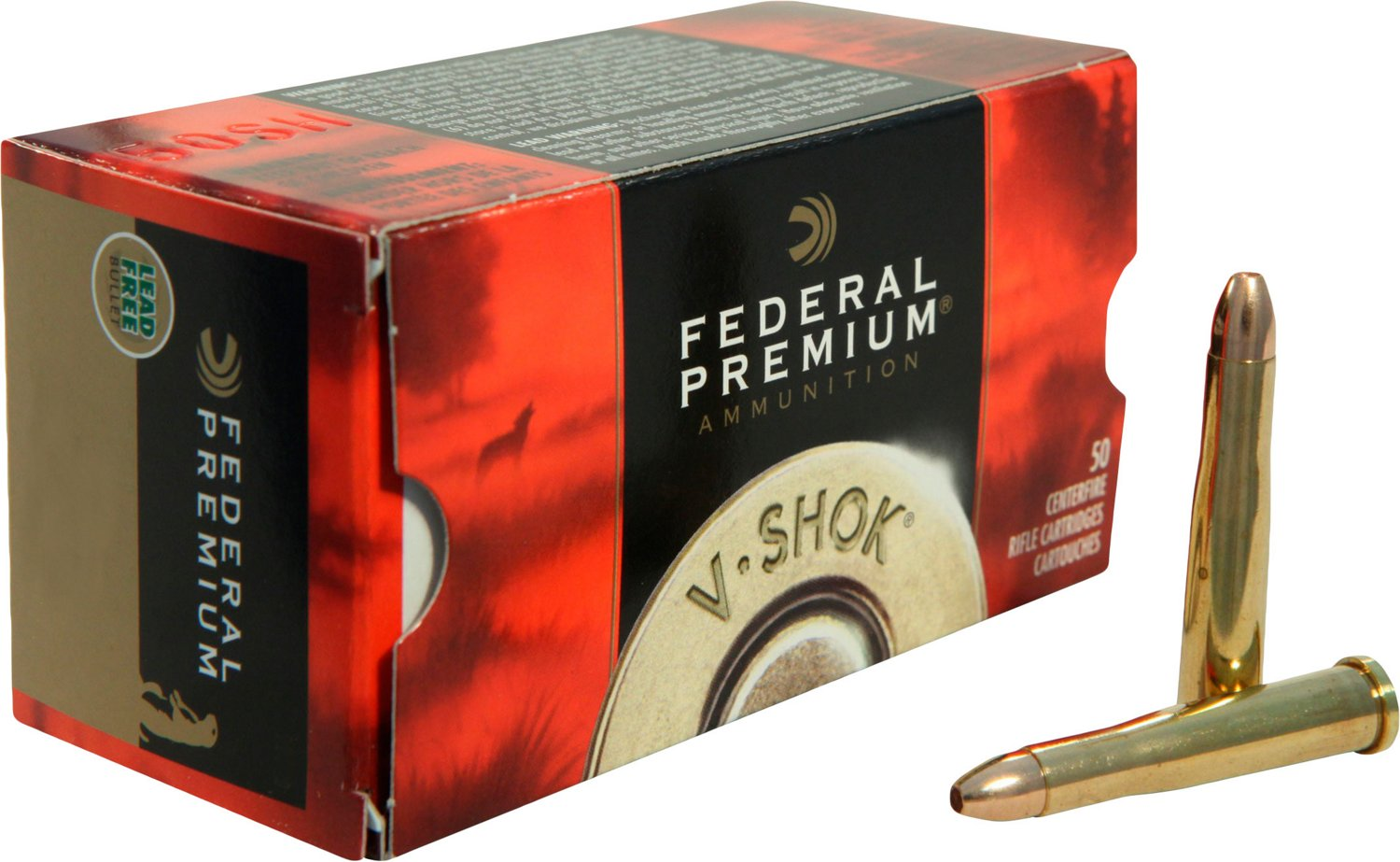 Federal Premium V-Shok .22 WMR TNT Hollow-Point Rimfire Ammunition - view number 1