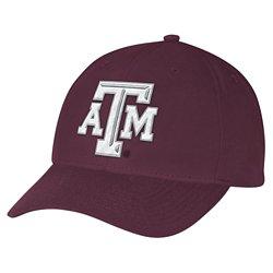 adidas Men's Texas A&M University Structured Adjustable Cap