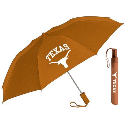Storm Duds Adults' University of Texas Automatic Folding Umbrella