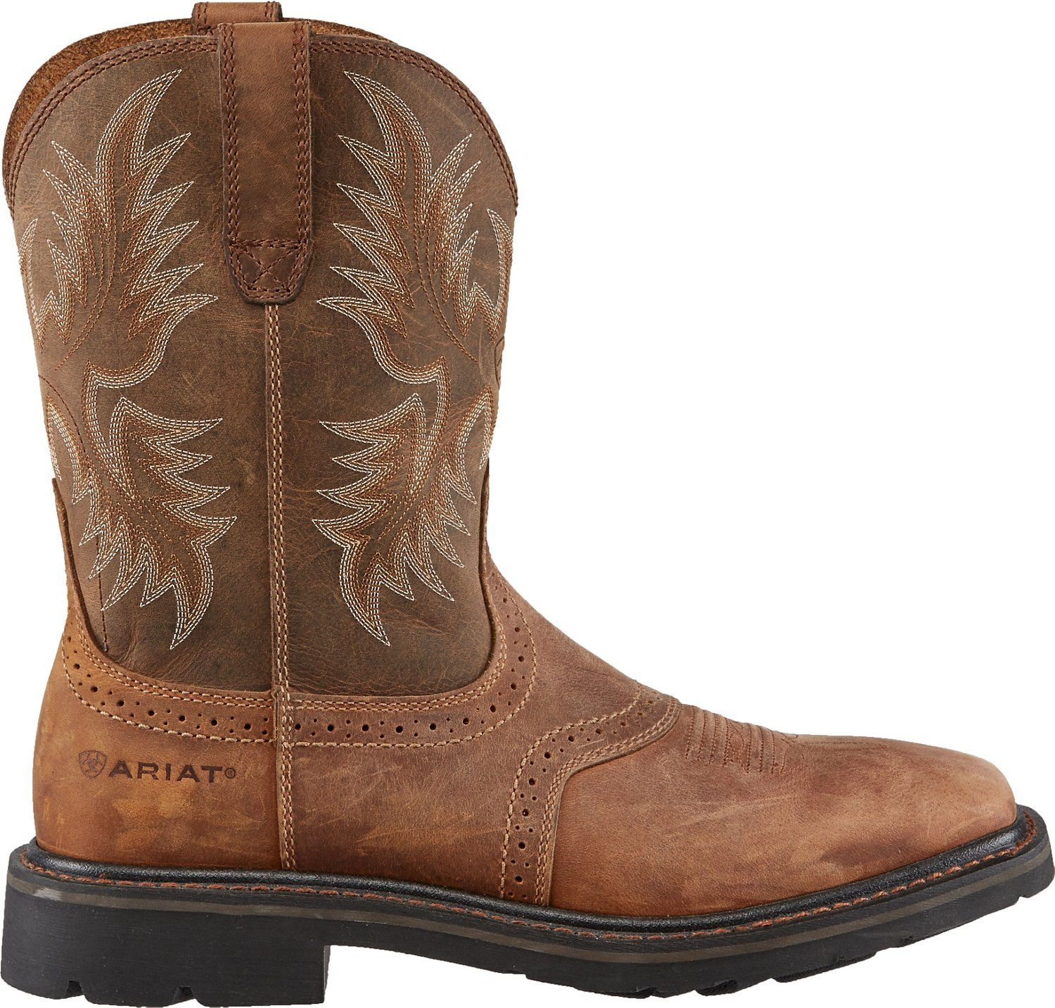 3a57fd746a16 Display product reviews for Ariat Men s Sierra Square Toe Work Boots