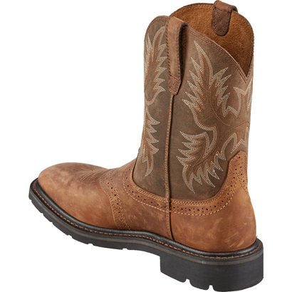 3fdffd78fc58 Ariat Men s Sierra Square Toe Work Boots