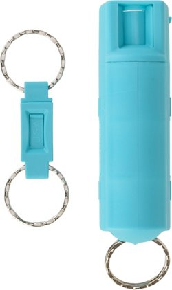 SABRE Kuros!™ 15.9 ml Key Case Pepper Spray with Quick-Release Key Ring