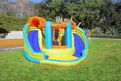 Sportspower Double Slide and Bounce Water Slide