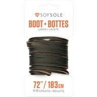 "Sof Sole™ Natural Raw Leather 72"" Boot Laces"