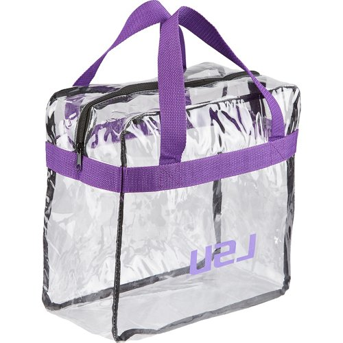 Forever Collectibles™ Louisiana State University Clear Messenger Bag