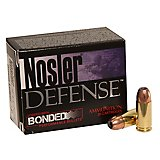 Nosler Defense Performance Bonded Centerfire Handgun Ammunition