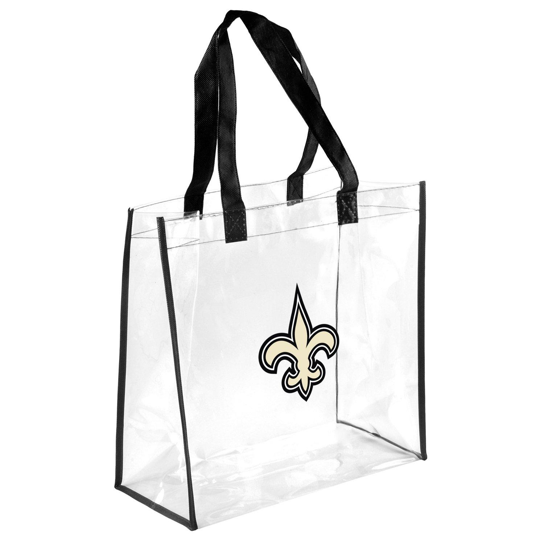 the best attitude 89785 9691f Team Beans New Orleans Saints Clear Reusable Bag