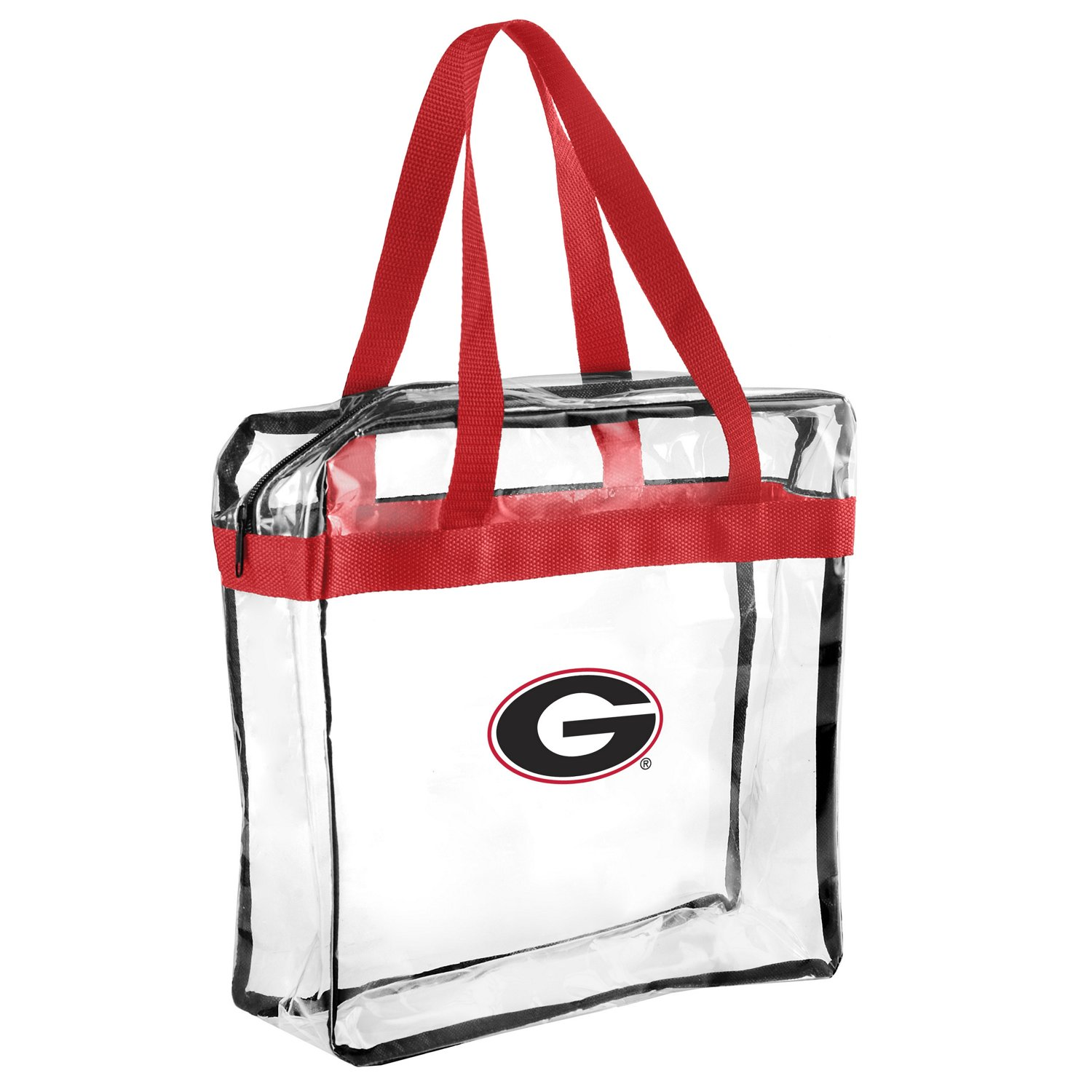 Display product reviews for Forever Collectibles™ University of Georgia Clear Messenger Bag