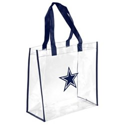 Dallas Cowboys Clear Reusable Bag