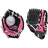 Rawlings Youth Players Series 9 in T-ball Glove with Ball