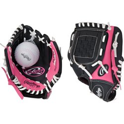 Youth Players Series 9 in T-ball Glove with Ball