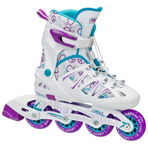 Roller Derby Girls' Stinger 5.2 In-Line Skates