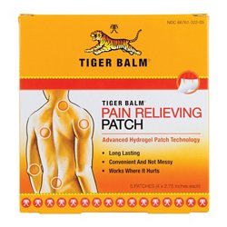 Tiger Balm Pain-Relieving Patches 5-Pack