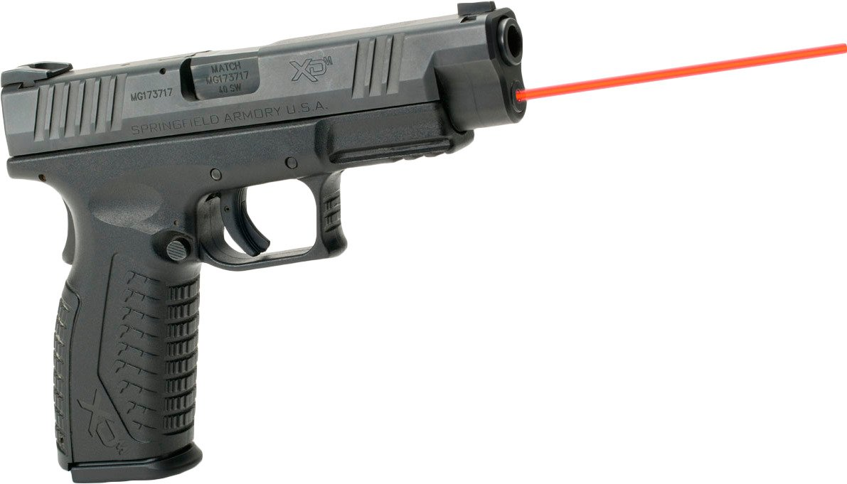 LaserMax Springfield Armory XDM 635 nm Red Guide Rod Laser - view number 7
