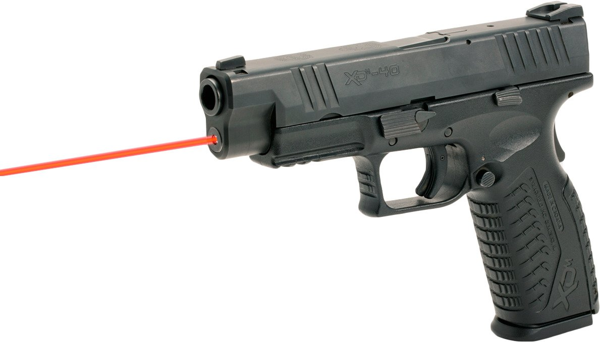 LaserMax Springfield Armory XDM 635 nm Red Guide Rod Laser - view number 6