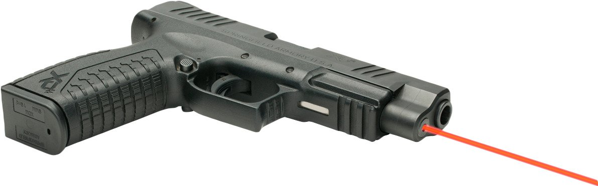 LaserMax Springfield Armory XDM 635 nm Red Guide Rod Laser - view number 5
