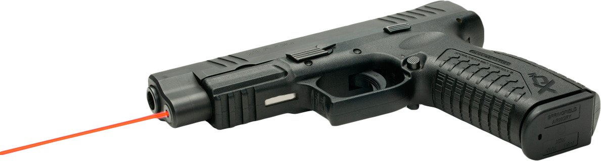 LaserMax Springfield Armory XDM 635 nm Red Guide Rod Laser - view number 4