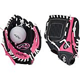 Rawlings Youth Players Series 9 in T-ball Glove Left-handed with Ball