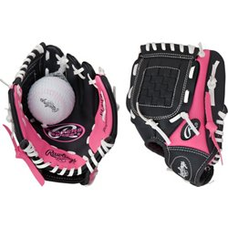 Youth Players Series 9 in T-ball Glove Left-handed with Ball