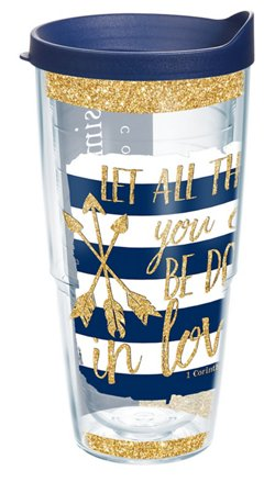 Tervis Simply Southern Quote Sparkle 24 oz. Tumbler