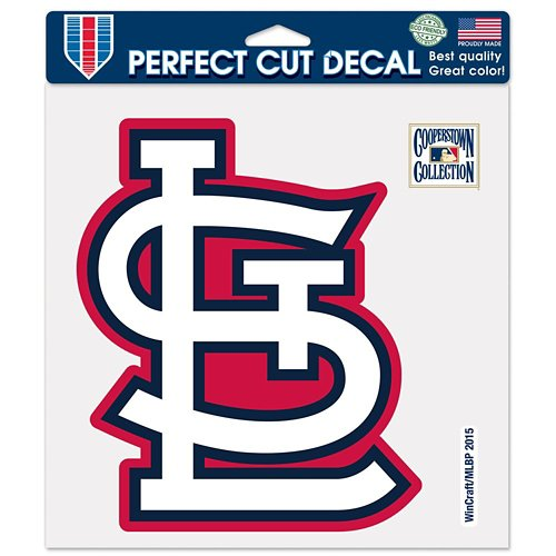 WinCraft St. Louis Cardinals 8' x 8' Perfect Cut Color Decal