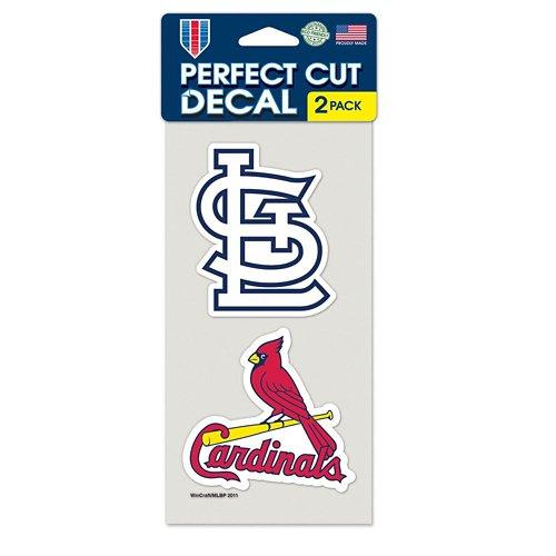 WinCraft St. Louis Cardinals Die-Cut Decals 2-Pack