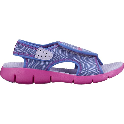 a3f1209490c4 ... clearance nike girls sunray adjustable 4 sandals view number 65272 915b4