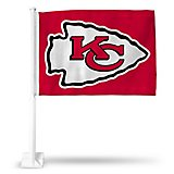 Rico Kansas City Chiefs Arrowhead Car Flag